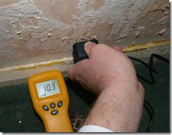 10.3% wood moisture content is DRY.  mould needs water though...