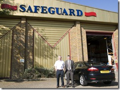 Safeguard's sales manager for my area, Robert Deary.  I've dealt with him for over 20 years.