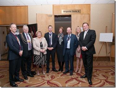 Leeds estate agents VIP guests