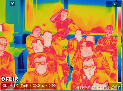 infrared image of Property Care Association members