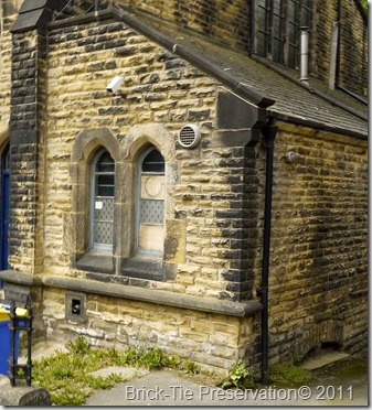 Damp church walls in headingley near Leeds