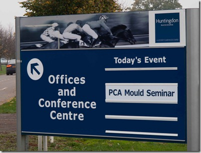 PCA mould seminar huntingdon
