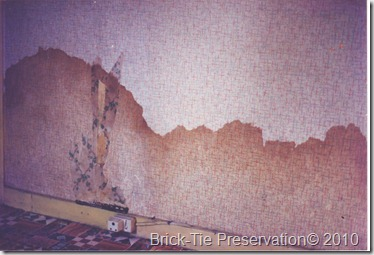 Rising Damp in a West Yorkshire house