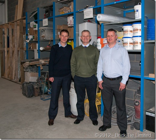 Safeguard's Hudson Lambert and Robert Deary in Leeds
