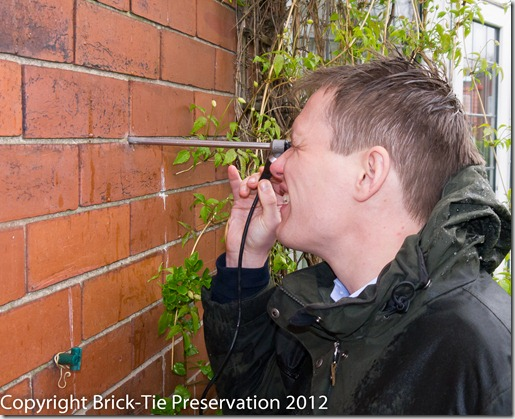 A wall tie survey in Yorkshire by Brick-Tie
