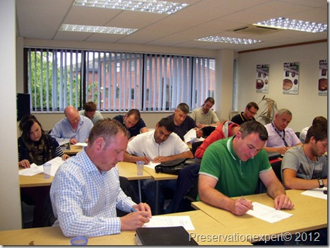 Damp timber and waterproofing surveyors study law and H&S at the PCA