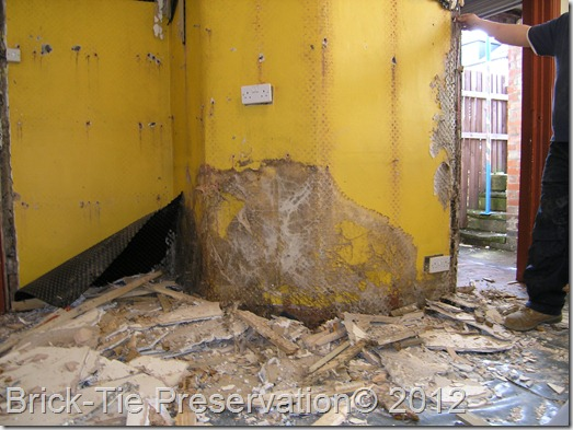 Damp-proofing mistake leading to Dry Rot in Leeds