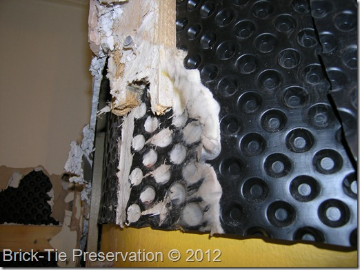 Dry Rot caused by damp-proofing error in Leeds