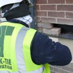 Penetrating damp solved with modular cavity trays