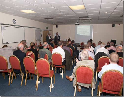 Phil Parnham presents the Blue Box Seminar at Brighouse West Yorkshire