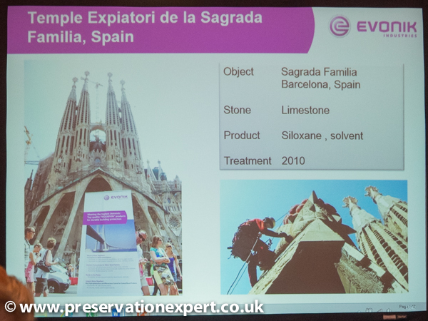 Image of Evonik in front of Barcelona