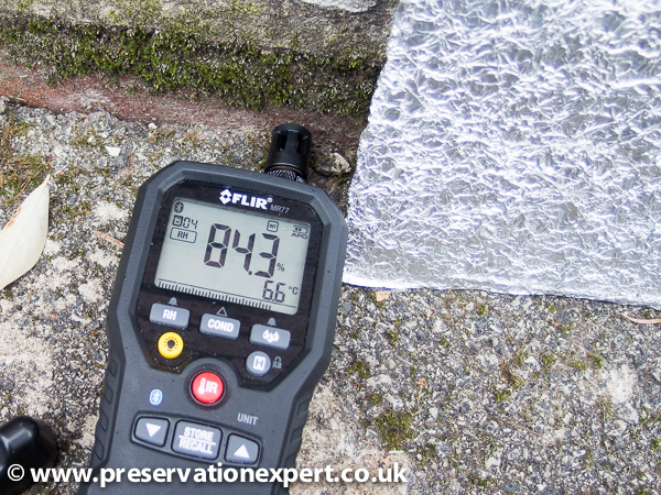 damp diagnosis by experts in Leeds