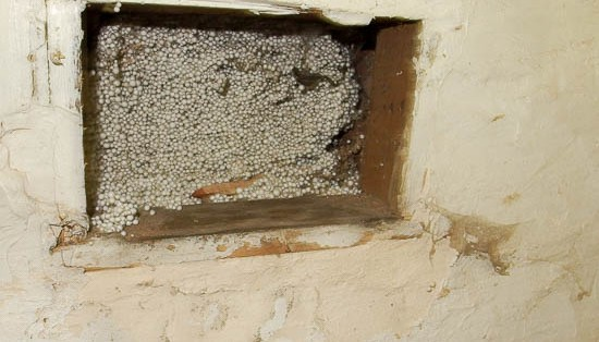 Damp caused by cavity wall insulation?
