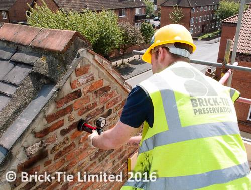 wall tie installation safety