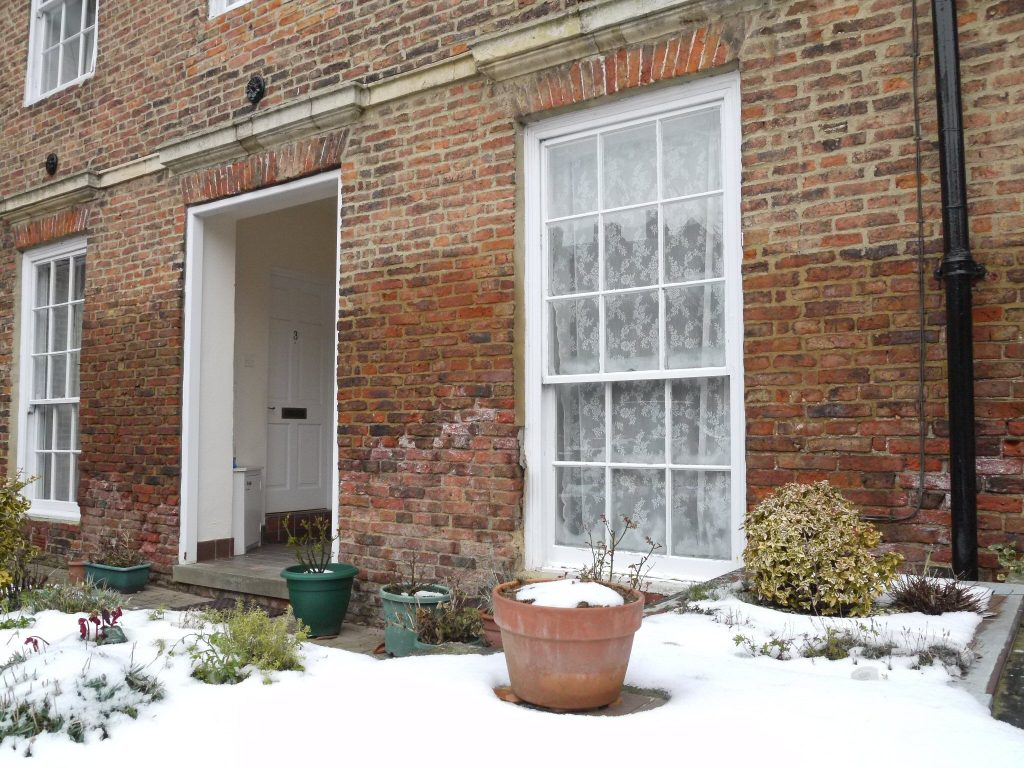 Rising damp in winter North Yorkshire