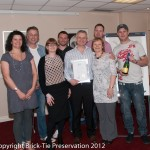 BT Preservation awarded in 2012 for training